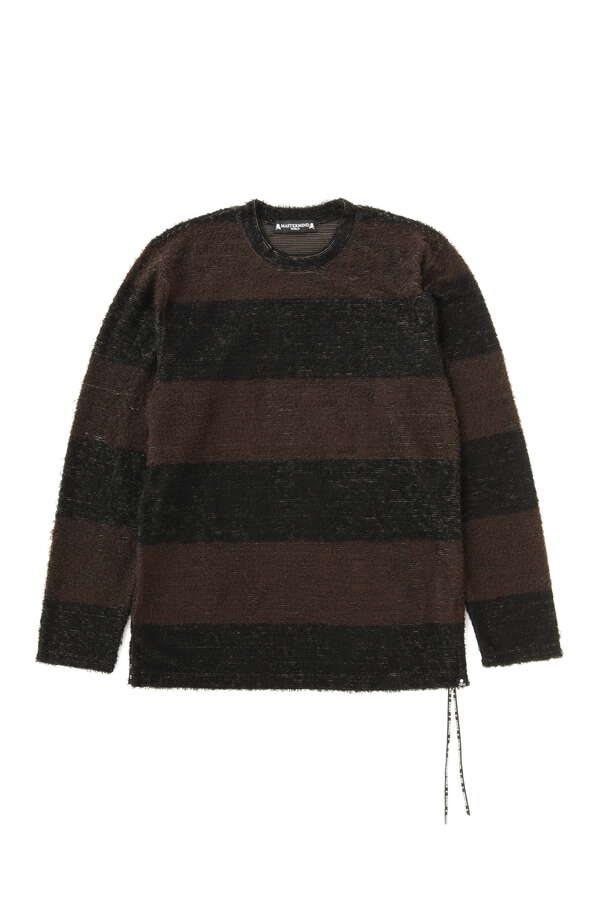 Pile Striped LS Tee