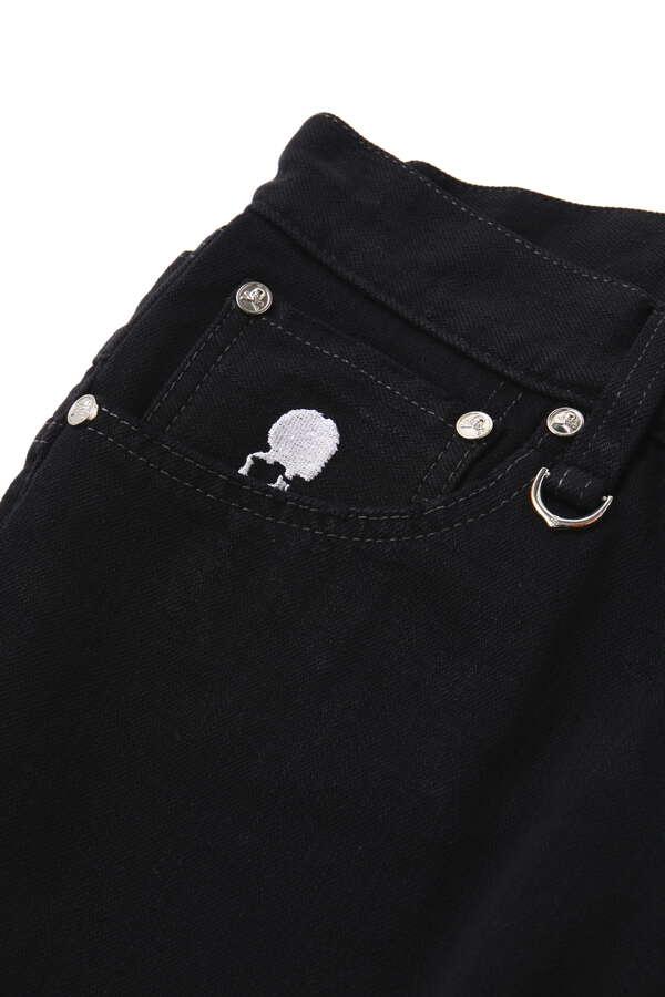 Water Repellent Stretch Denim Pants Slim Tapered Fit