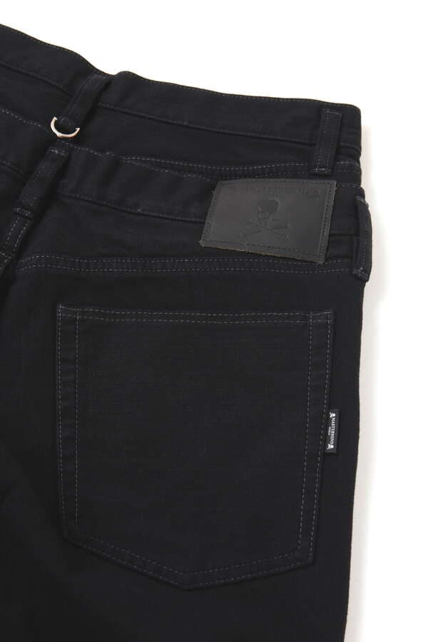Water Repellent Stretch Denim Pants Buggy Fit