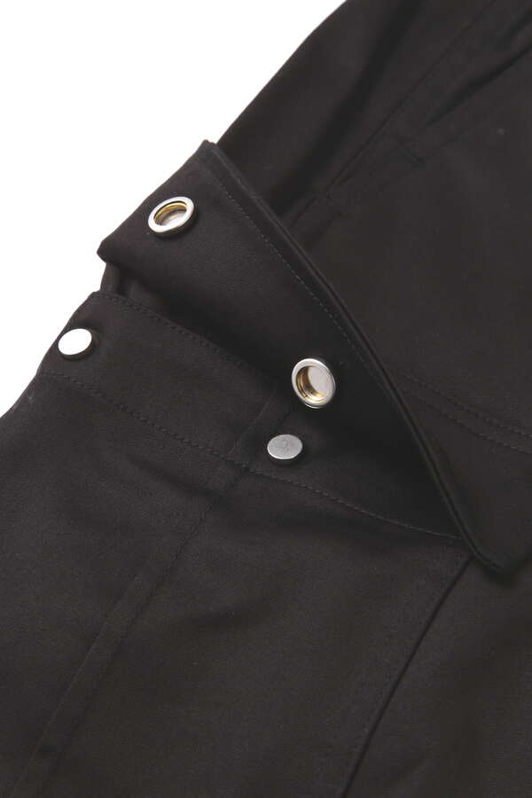 Zipped Cargo Pants Skinny Fit