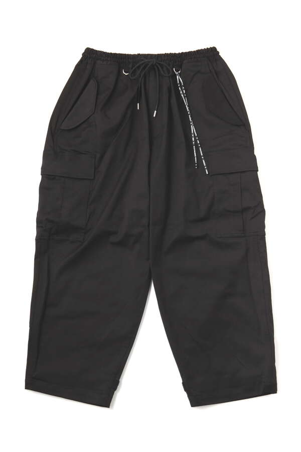 Taped Cargo Pants Loose Fit
