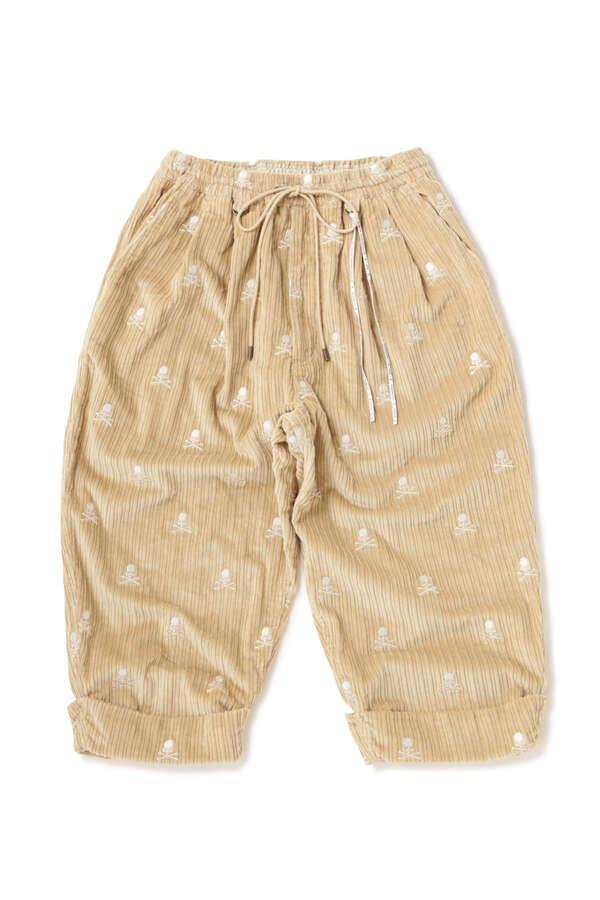 Corduroy Cropped Beach Pants