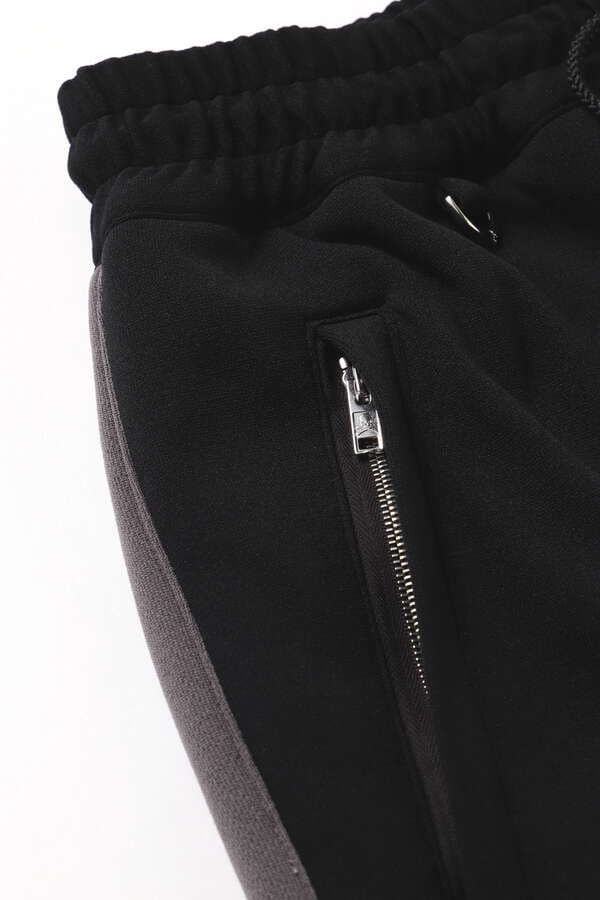 Ribbed Side Line Track Pants