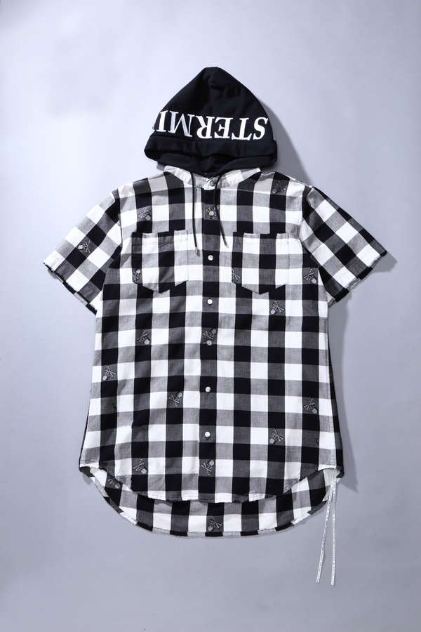 Hooded S/S Flannel