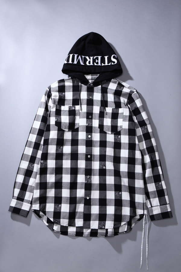 Hooded L/S Flannel