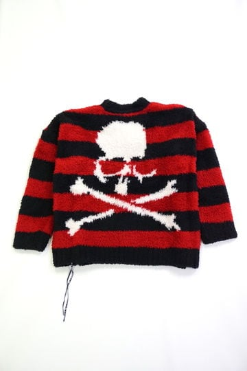 Extra Oversized Skull Sweater