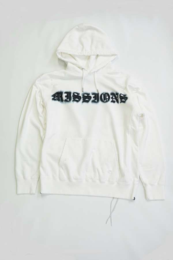 Damaged Missions Boxy Hoodie