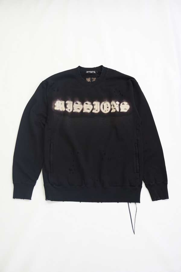 Damaged Missions Boxy Crewneck
