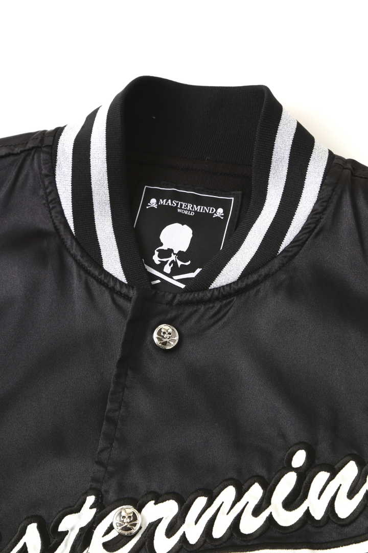 Nylon Varsity Jacket