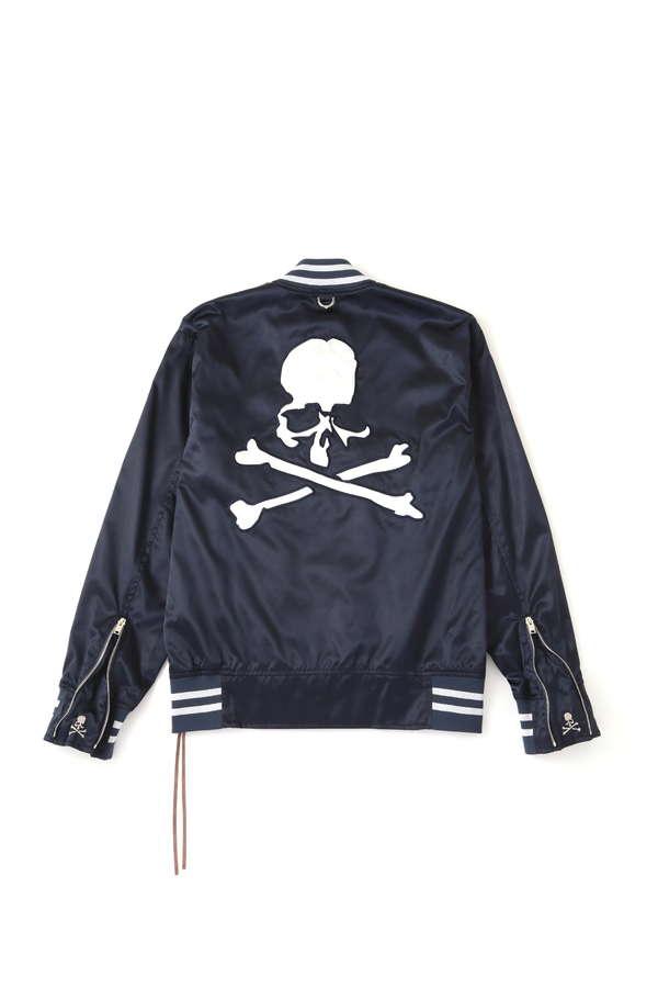 Nylon Varsity JacketNylon Varsity Jacket