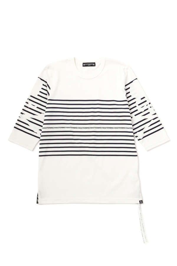 Striped 3/4 Tee