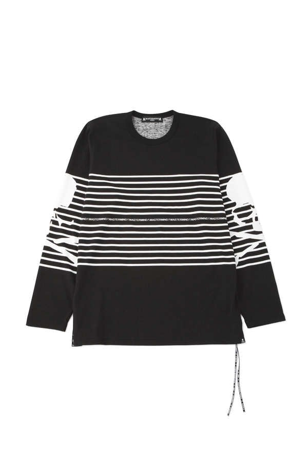 Striped LS Tee