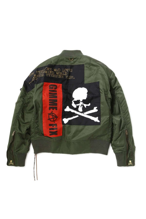 Anarchy Ver.2 Bomber JacketAnarchy Ver.2 Bomber Jacket