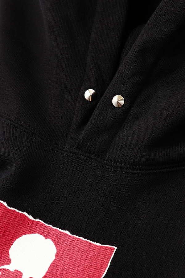Rub-On Logo Hoodie
