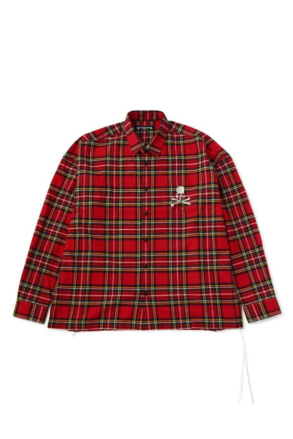 Zipped Flannel Shirt