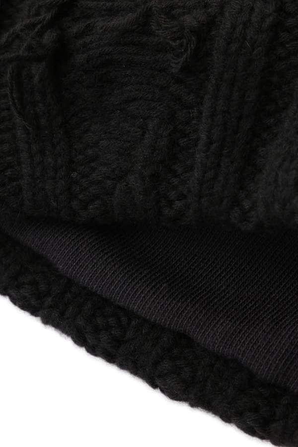 Hand Knitted Cuffed Beannie