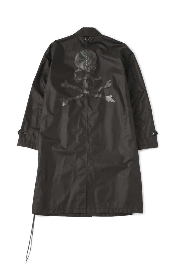 Faded Skull Trench Coat