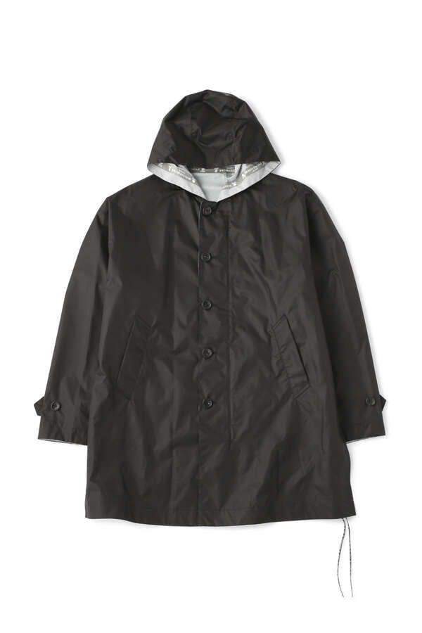 Faded Skull Hooded Coat