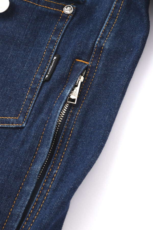 Water Repellent Denim Trucker Jacket