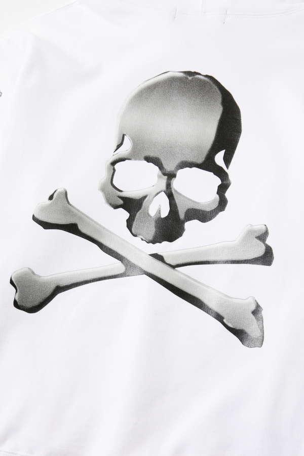 Metallic Side Logo Hoodie