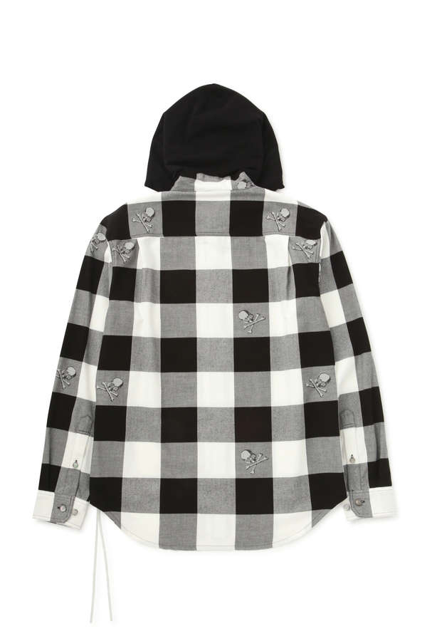 Block Check Hooded ShirtBlock Check Hooded Shirt