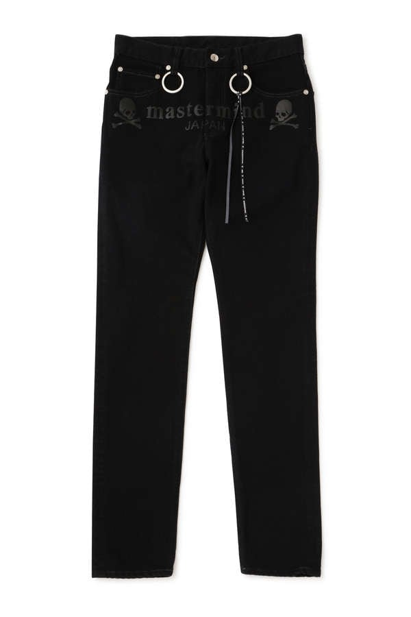 Water Repellent Denim Pants Skinny