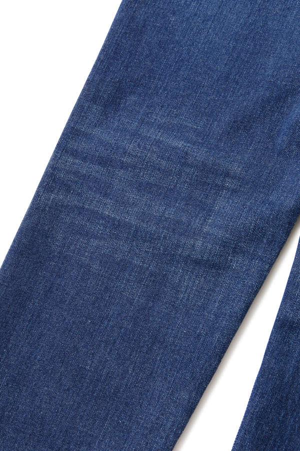 Water Repellent Denim Pants Slim Tapered