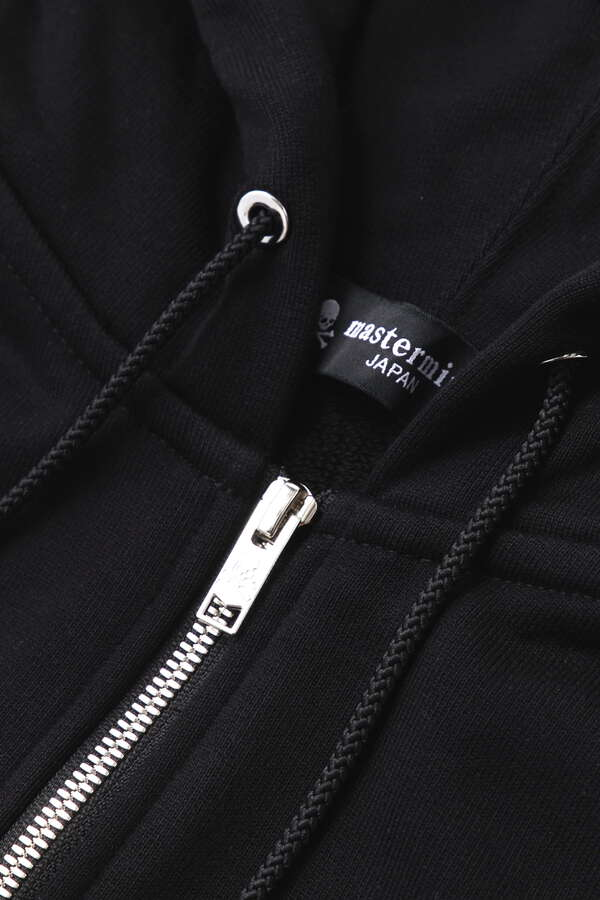 Embroidery-Ish Zip Up Hoodie