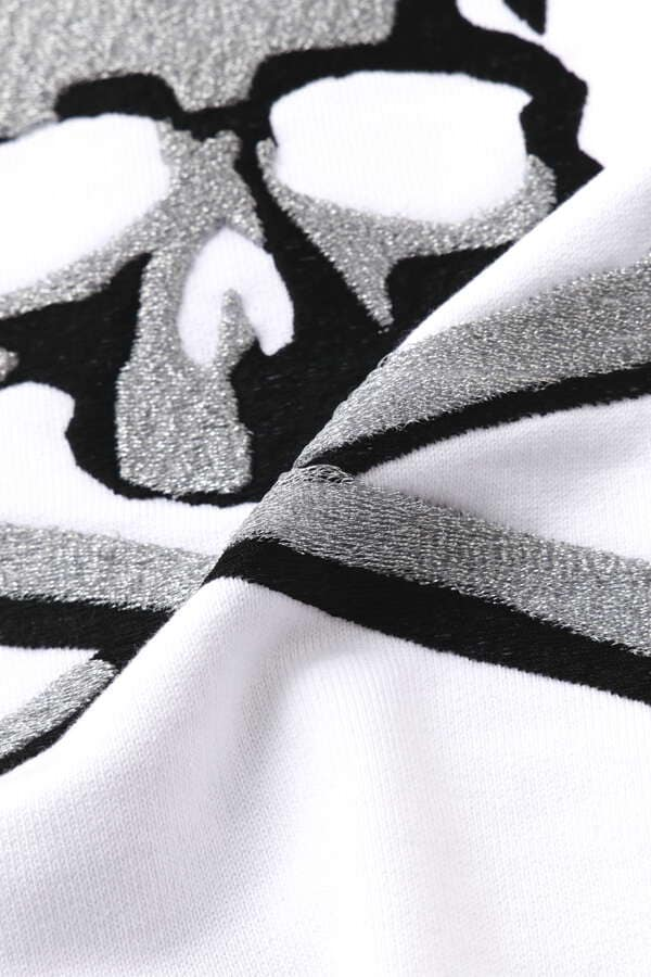 3D Embroidery Zip Up Hoodie
