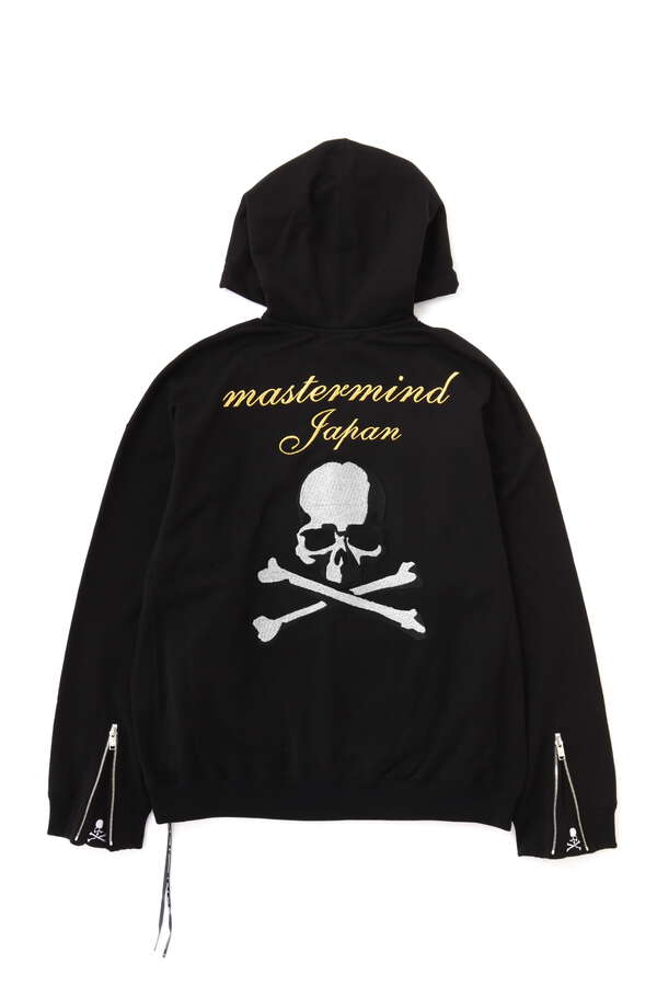 B. 3D Embroidery Zip Up Hoodie