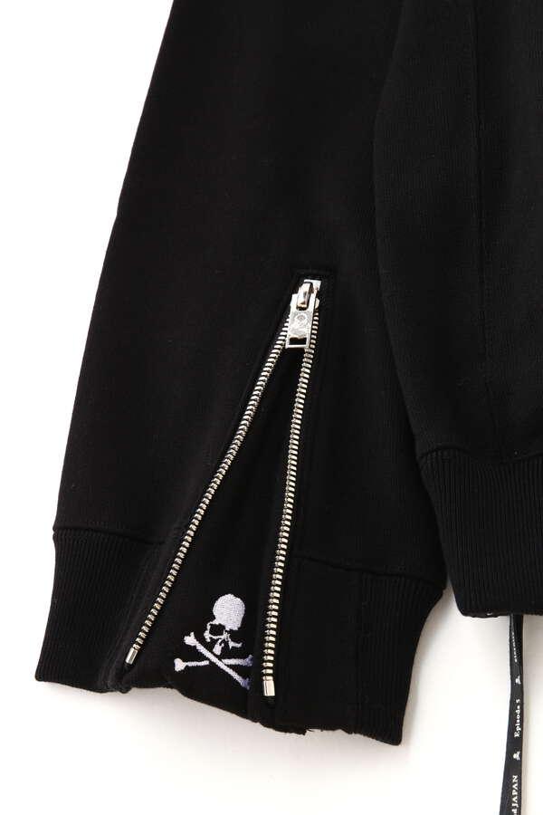 B. 3D Embroidery Zip Up Hoodie