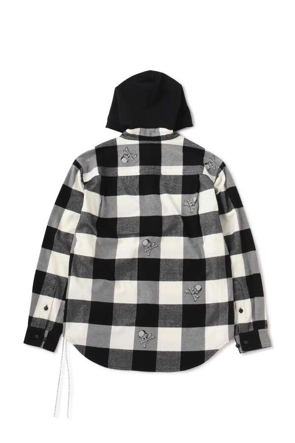 Hooded Flannel ShirtHooded Flannel Shirt