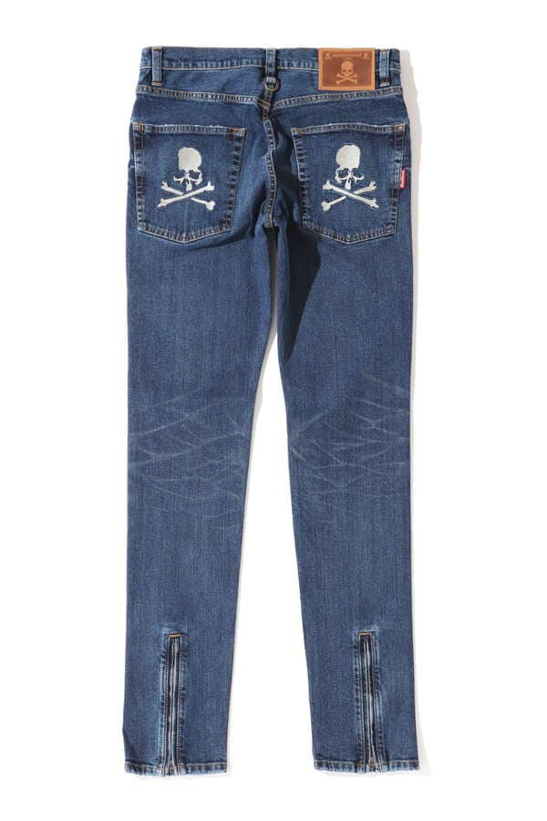 Water Repellent Denim Pants Skinny FitWater Repellent Denim Pants Skinny Fit