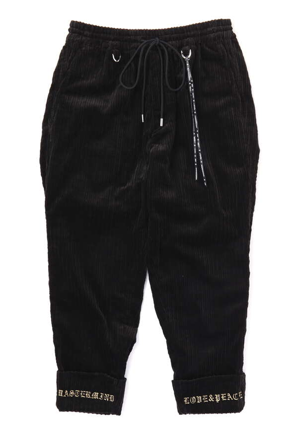 Corduroy Cropped Pants