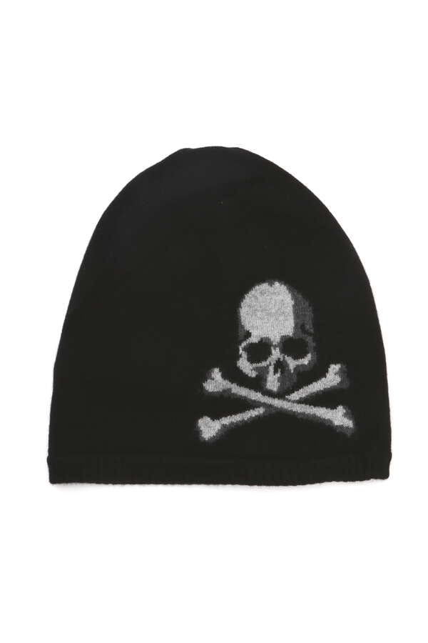 Intarsia Skull Beanie