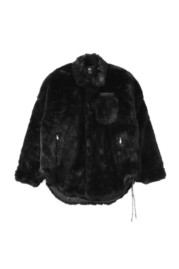 Faux Fur shirt