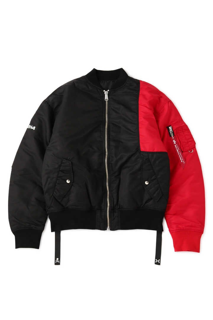 xC2H4 Bomber Jacket made by ALPHA INDUSTRIES