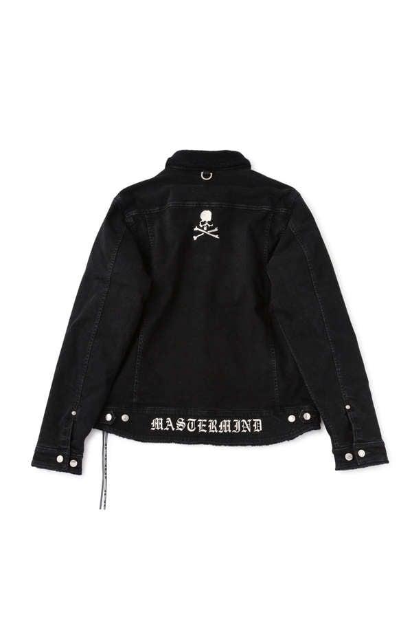 Cashmere Boa Denim Jacket