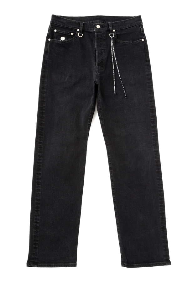 Stretch Denim Pant Straight